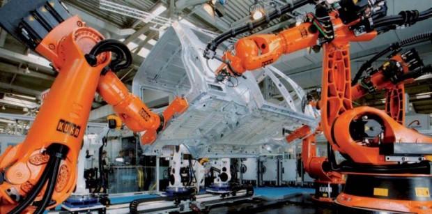 Ağır iş robotları, iş robotları, iş alanında robotlar