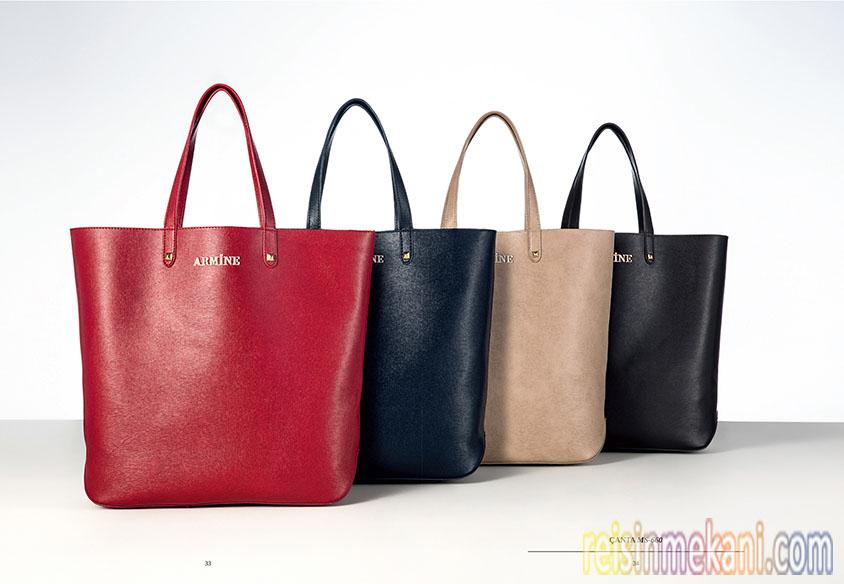 Çanta modelleri, Armine markası, Armine mağazaları