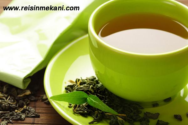 yeşil çayın faydaları, yeşil çay nelere iyi gelir, yeşil çayın iyi geldiği noktalar